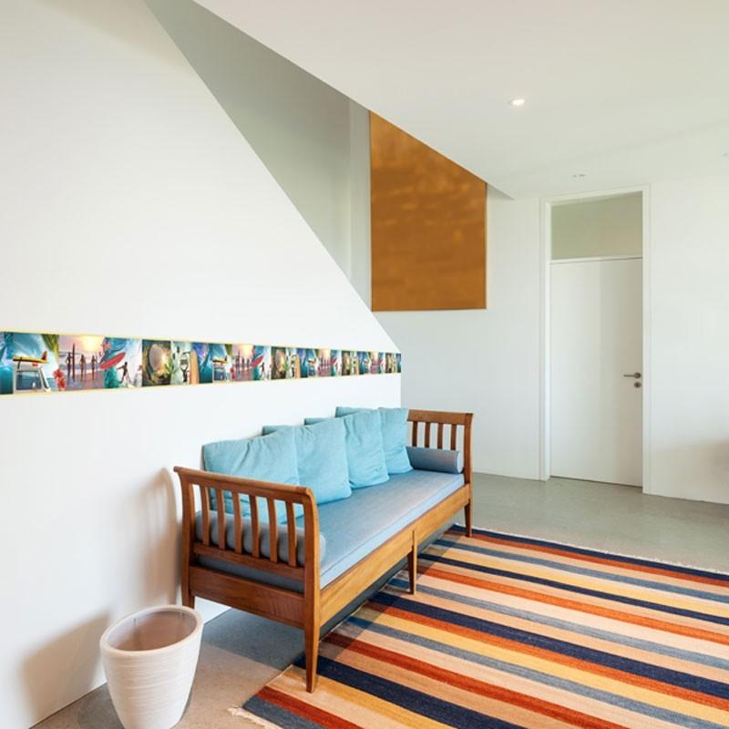 Cenefas decorativas fotomurales dc papel para empapelar for Papel para empapelar habitaciones