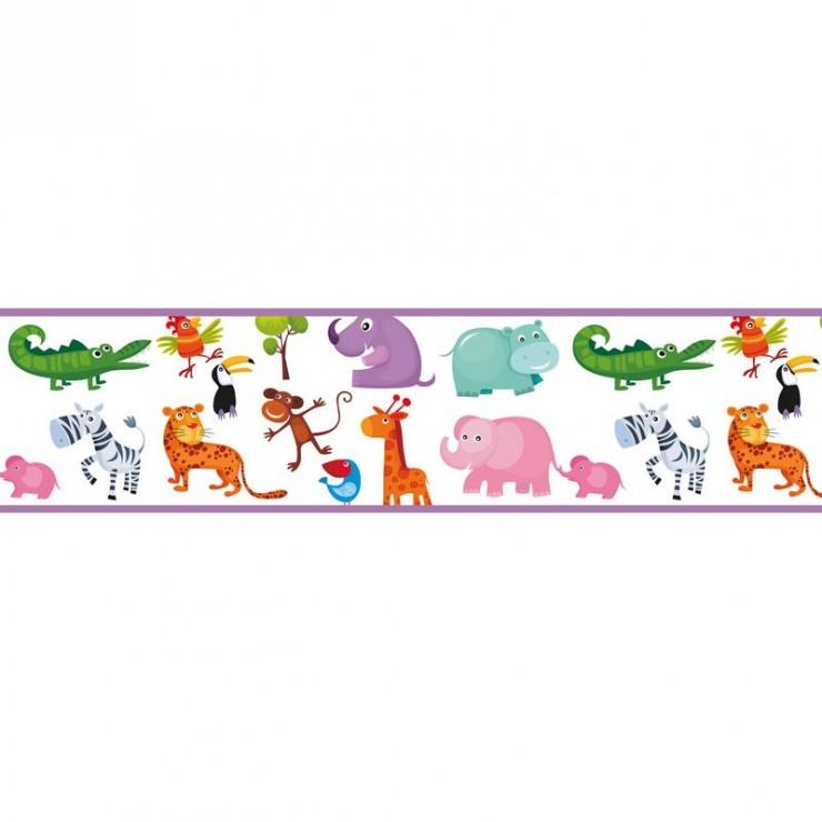 Cenefas decorativas fotomurales dc papel para empapelar - Cenefas de papel infantiles ...