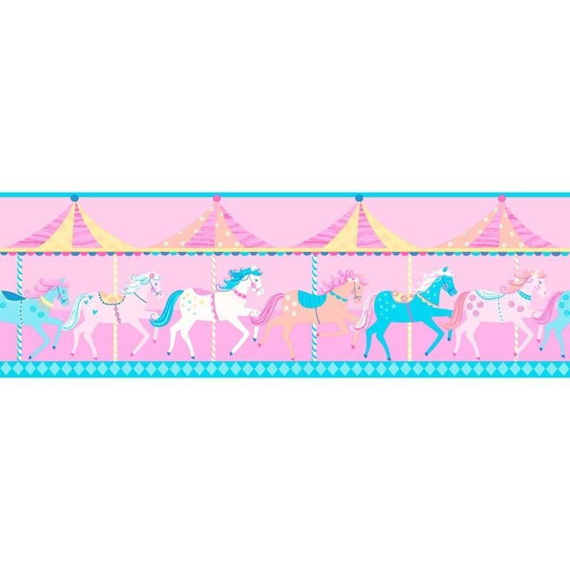 Cenefas infantiles Decorline Carousel DLB50080