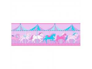 Cenefas infantiles Decorline Carousel DLB50081