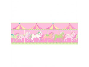 Cenefas infantiles Decorline Carousel DLB50082