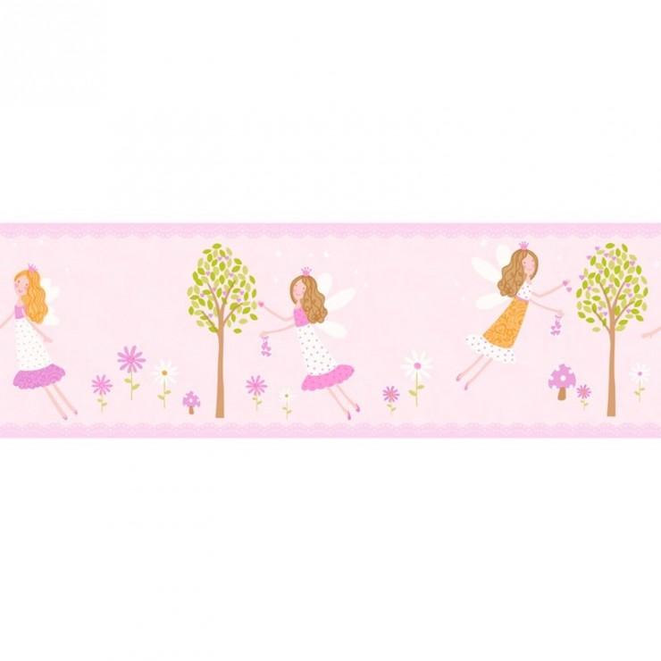Cenefas decorline carousel papel para empapelar for Papel para empapelar infantil