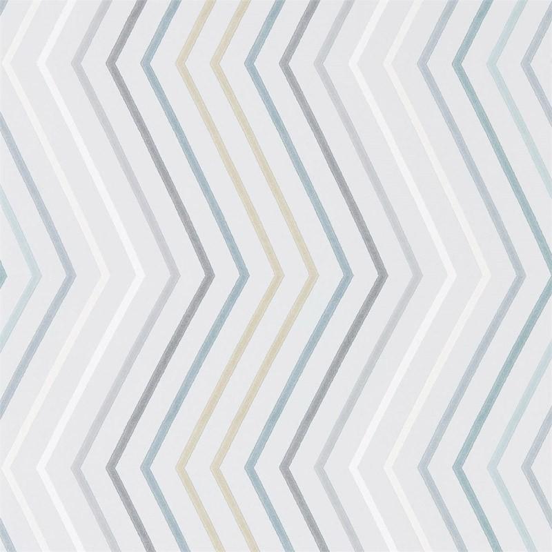 Papel pintado harlequin tresillo papel para empapelar for Papeles a rayas para empapelar