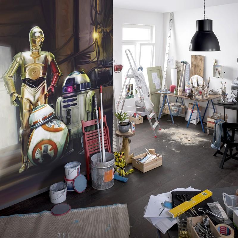 Fotomural Star Wars Three Droids 4-447 A
