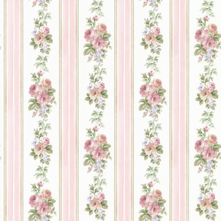 Papel pintado rose garden de saint honor tienda online espa a for Papel pintado saint honore