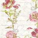 Papel Pintado Urban Flowers 32800-4