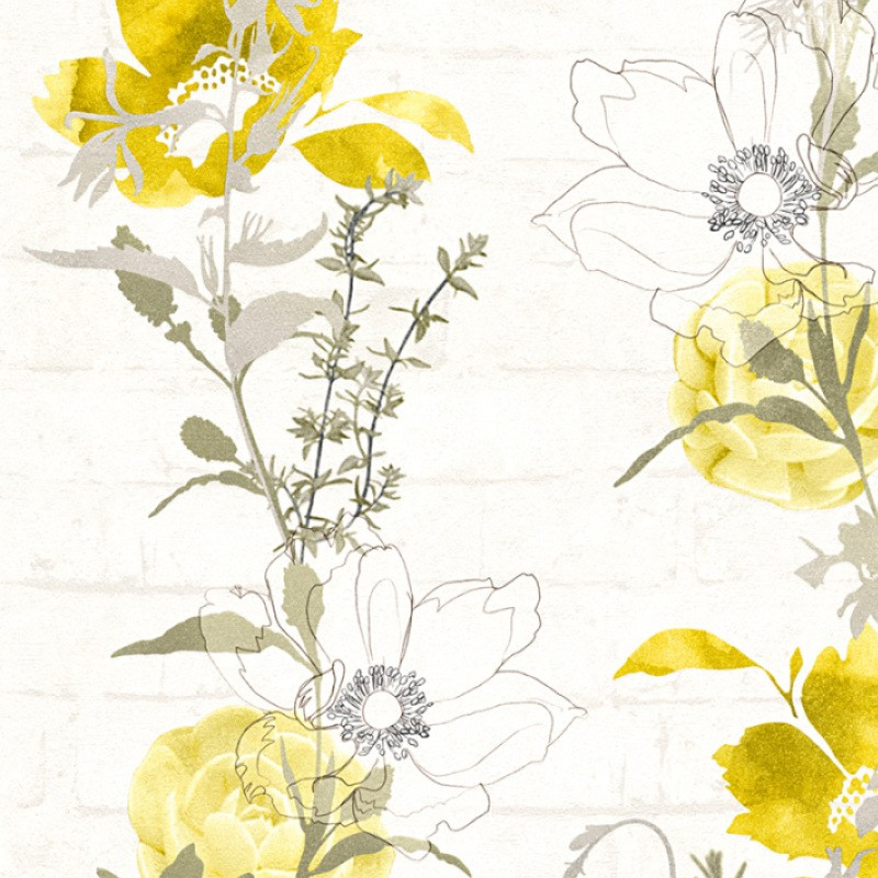 Papel Pintado As Creation Urban Flowers 32800-2
