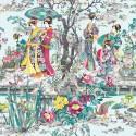 Papel Pintado Enchanted Gardens W7024-02