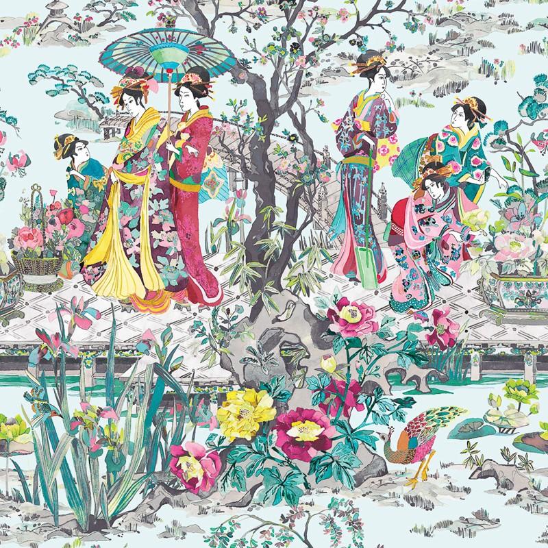 Papel Pintado Osborne & Little Enchanted Gardens W7024-02