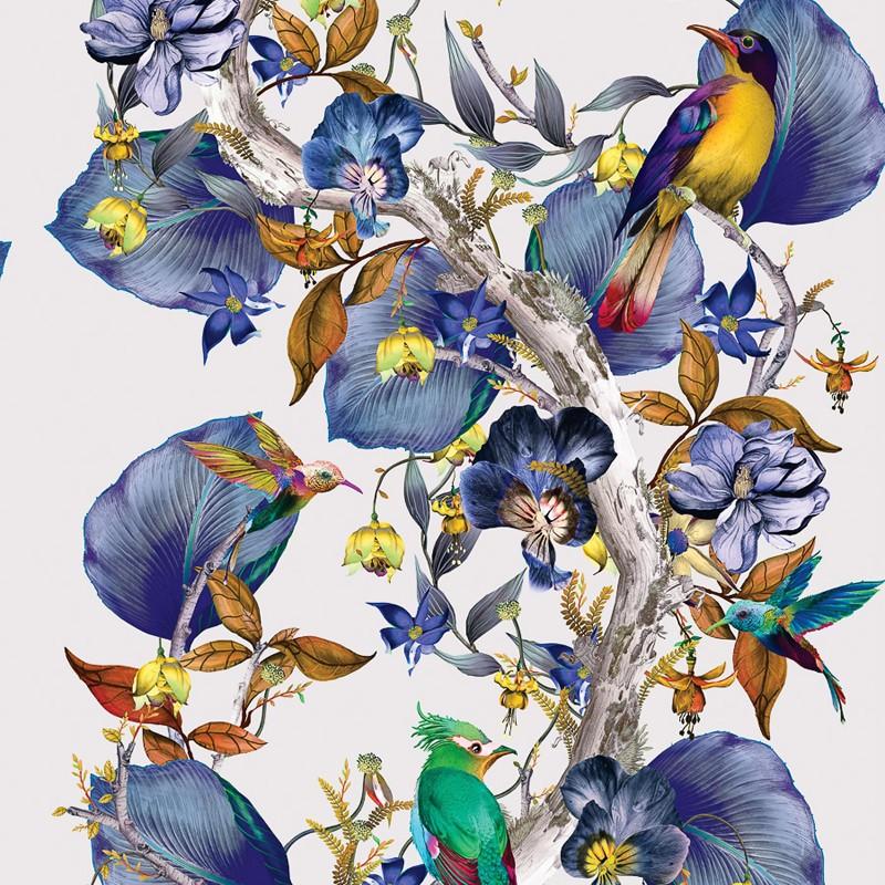 Papel Pintado Osborne & Little Enchanted Gardens W7026-02