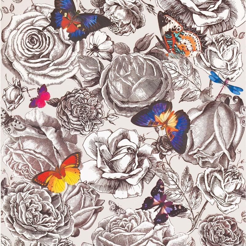 Papel Pintado Osborne & Little Enchanted Gardens W6592-01