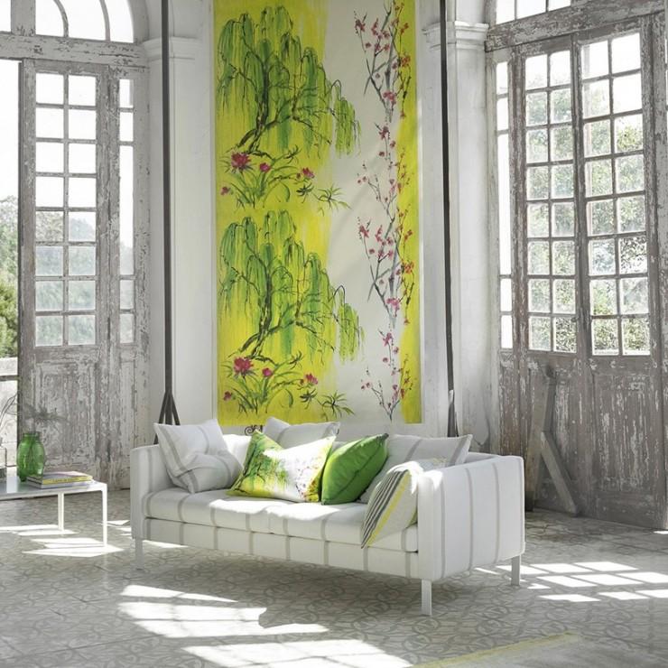 Mural shanghai garden de designers guild tienda online espa a - Designers guild espana ...