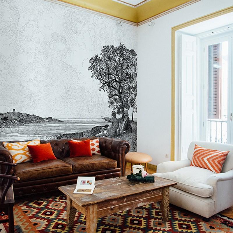 Mural decorativo Coordonné Tempo 6300083 A