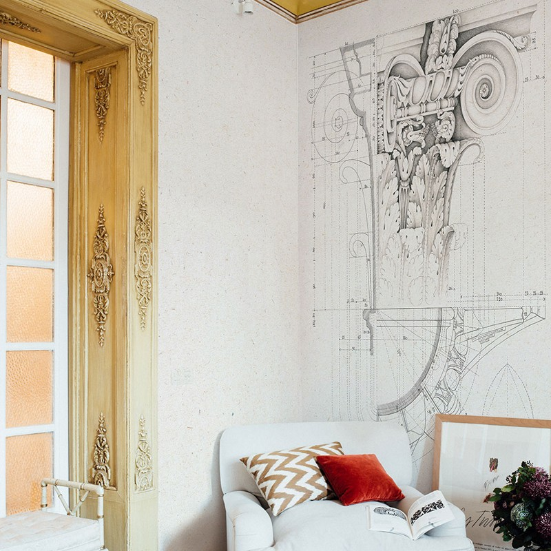 Mural decorativo Coordonné Tempo 6300085 A