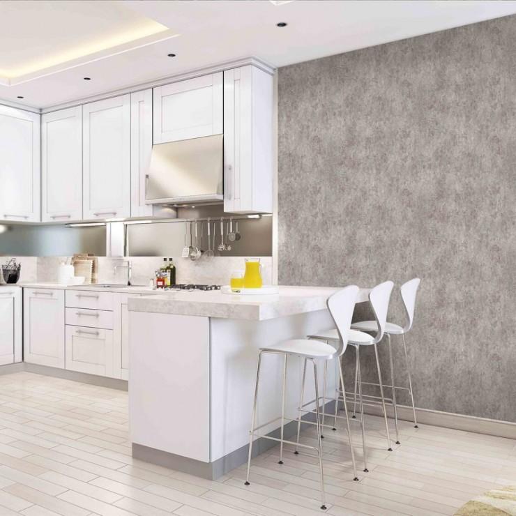 Papel lavable para paredes trendy brillo de plata moderna de rayas blanco flocado papel tapiz - Papel pintado lavable ...