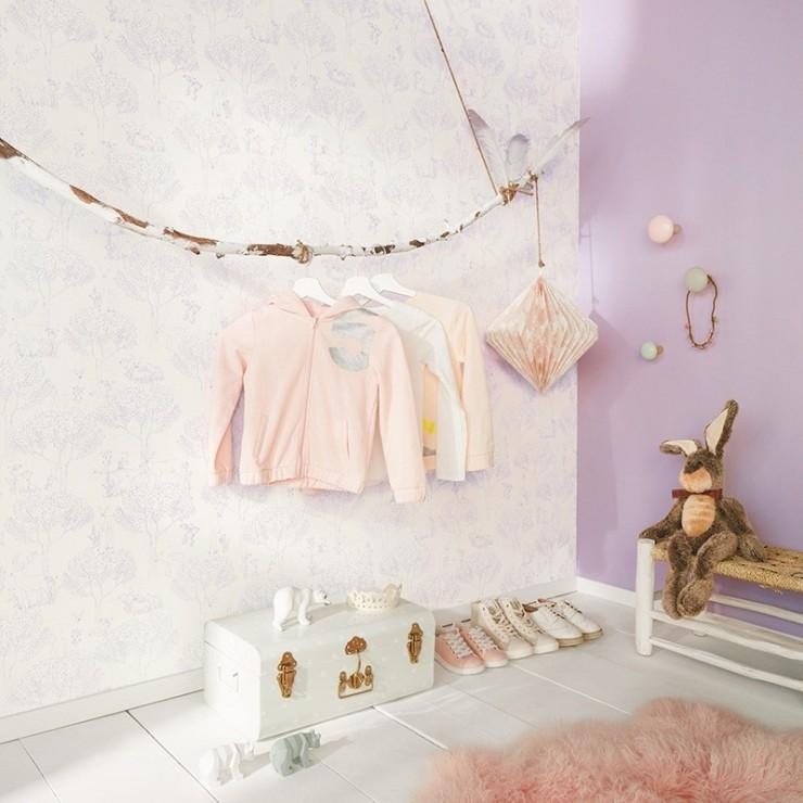 Papel Pintado Pretty Lili de Caselio | Papel pintado infantil para pared