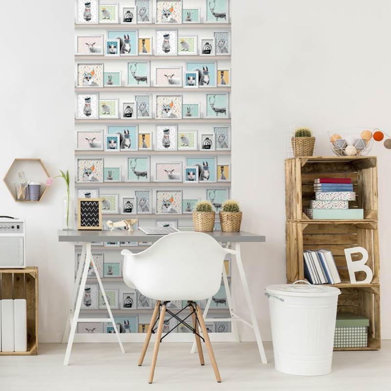 Papel pintado habitacion juvenil papel pintado cuarto for Papel pintado para dormitorio juvenil