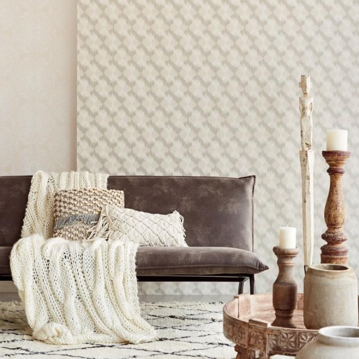 Papel pared decorativo finest papel pintado aromas with - Plaquetas decorativas para paredes ...