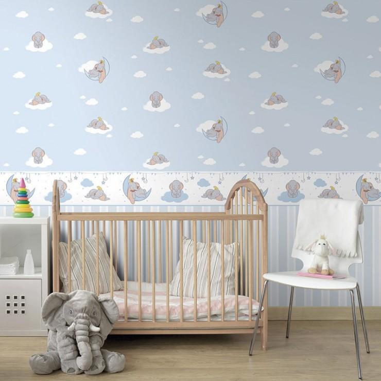 Papel pintado fantasy deco de decoas papel pintado for Papel pintado infantil