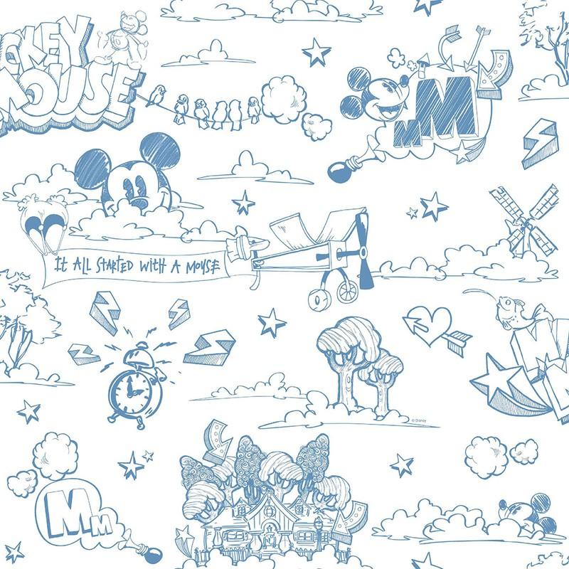 Papel pintado infantil Decoas Fantasy Deco MK3014-2