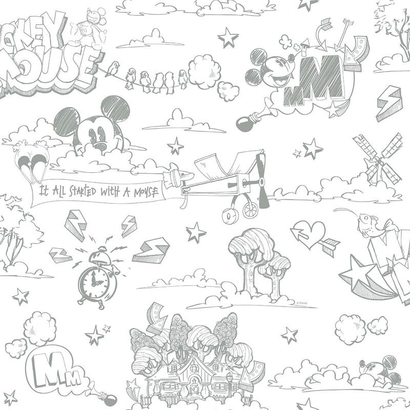 Papel pintado infantil Decoas Fantasy Deco MK3014-4