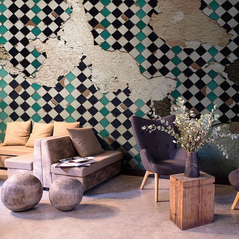 Mural Coordonné Random Papers Tiles Broken Wall 6500311N A