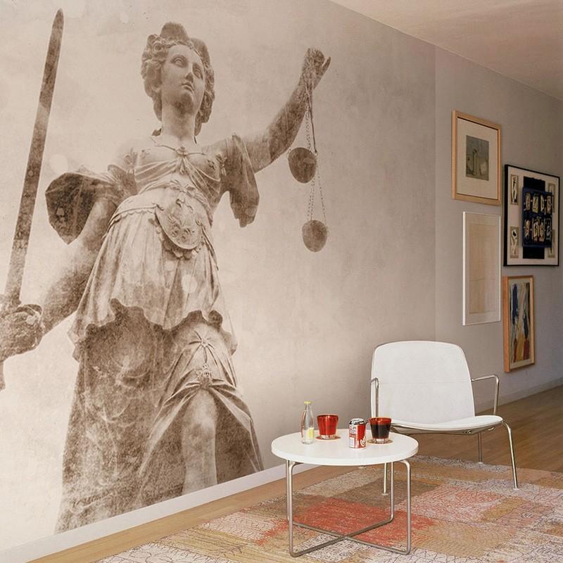 Mural Coordonné Random Papers Justice Sculpture 6500602N A