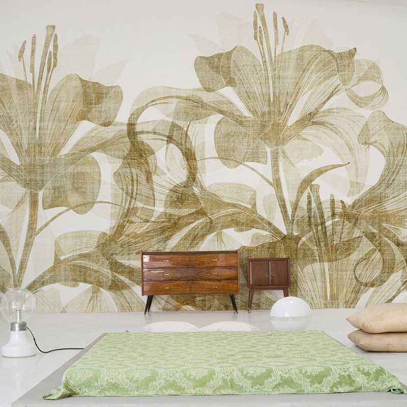 Mural Wall&Deco Contemporary Wallpapers 2011 Smell Like WDSL1101 A