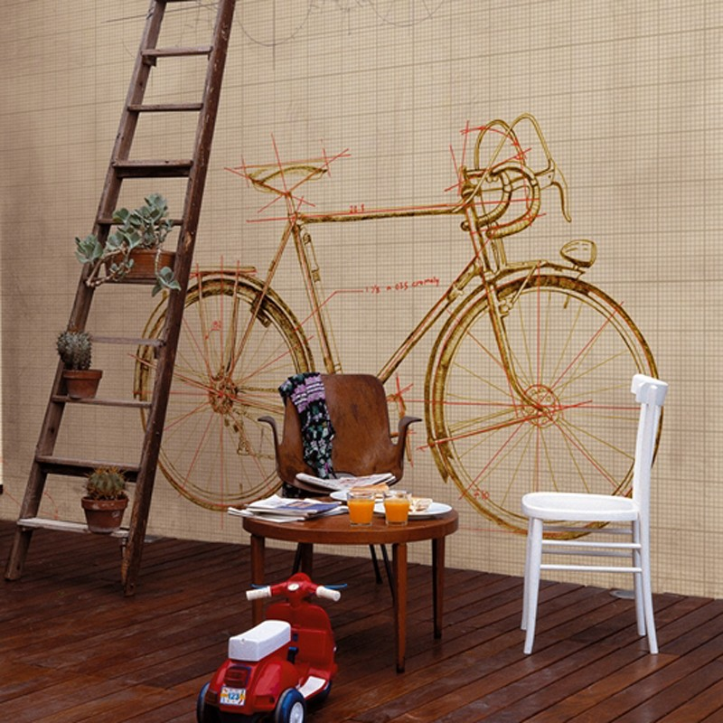 Mural Wall&Decò Contemporary Wallpapers 2012 Granfondo BBGR1201 A