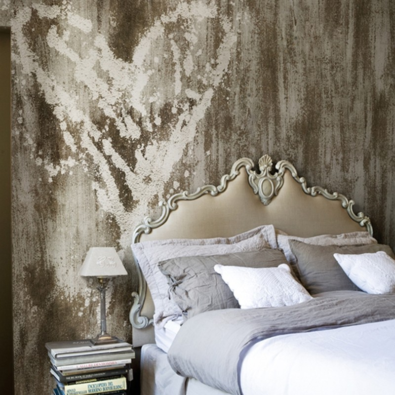 Mural Wall&Decò Contemporary Wallpapers 2012 Wet Heart WDWE1201 A