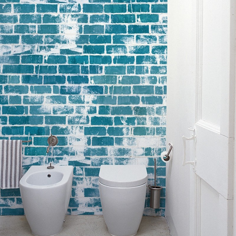 Mural Wall&Decò Contemporary Wallpapers 2012 Blue Limit WDBL1201 A