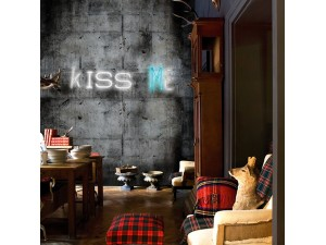 Mural Wall&Decò Contemporary Wallpapers 2013 Kiss Me WDKM1301 A