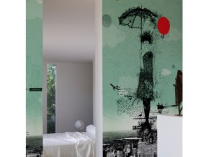 Mural Wall&Decò Contemporary Wallpapers 2013 Sarah WDSH1301 A