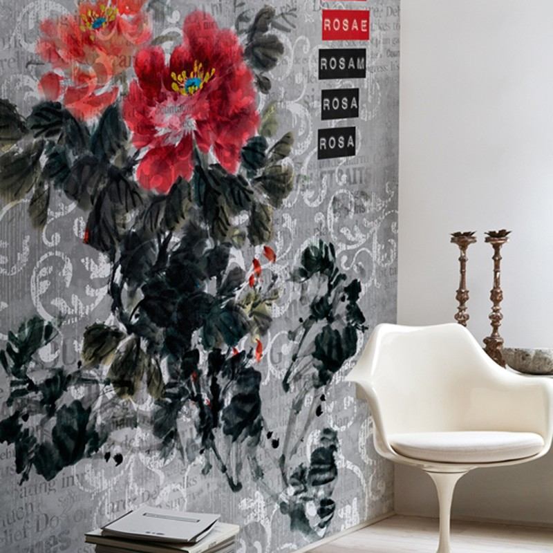 Mural Wall&Decò Contemporary Wallpapers 2013 Rosa Rosae WDRR1301 A