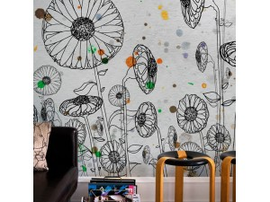 Mural Wall&Decò Contemporary Wallpapers 2013 Dripping WDDR1301 A