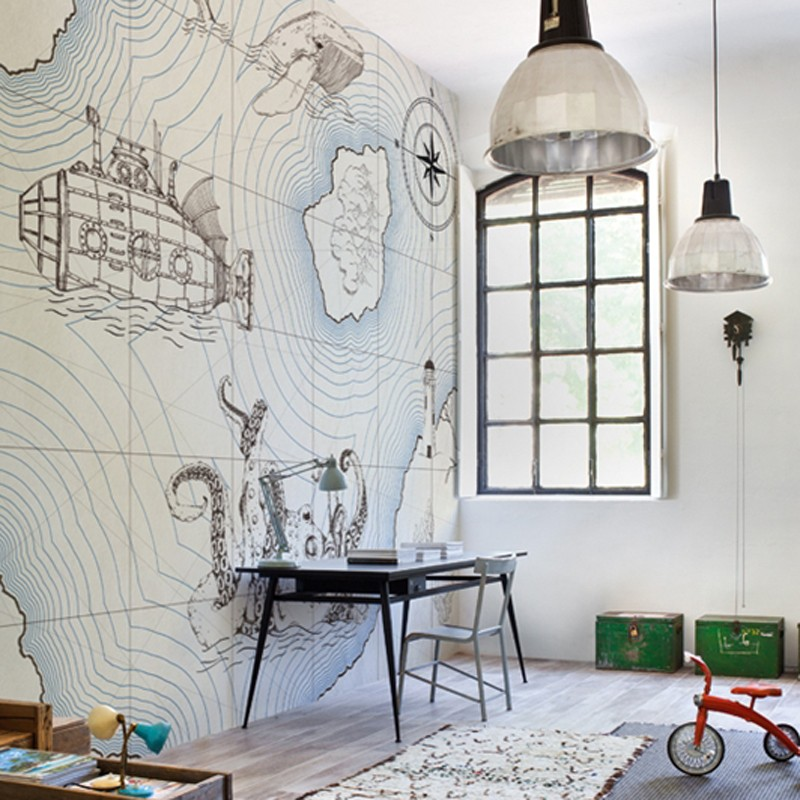 Mural Wall&Decò Contemporary Wallpapers 2014 Jules WDJU1401 A