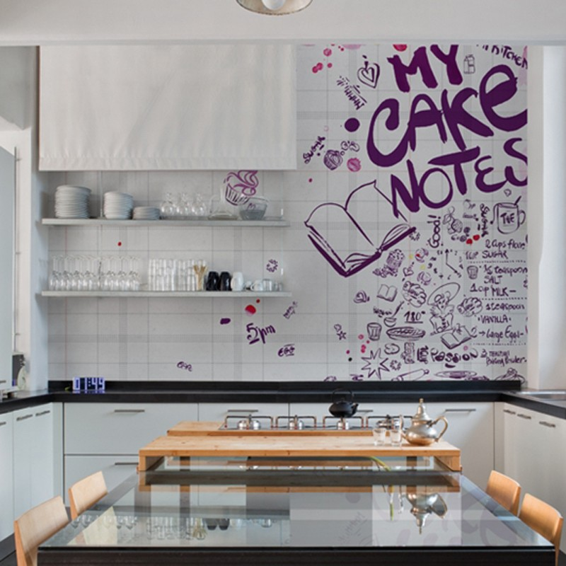Mural Wall&Decò Contemporary Wallpapers 2014 Wall notes WDWN1401 A