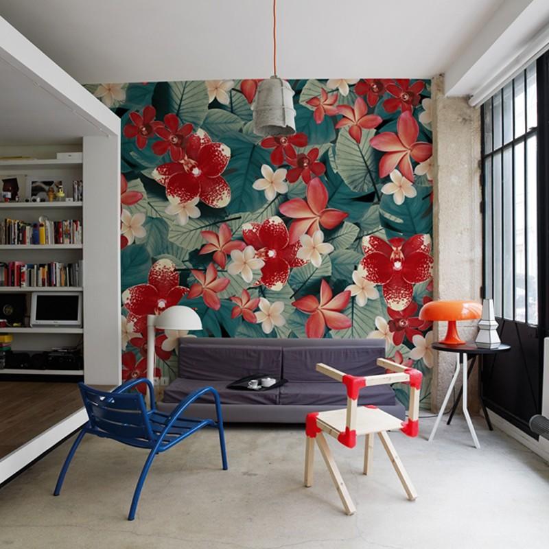 Mural Wall&Decò Contemporary Wallpapers Anniversary Tropics WDAN15TO A