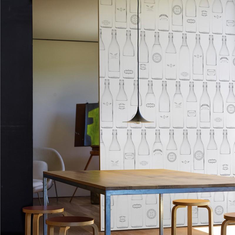 Mural Wall&Decò Contemporary Wallpapers Anniversary Optical WDAN15OP A