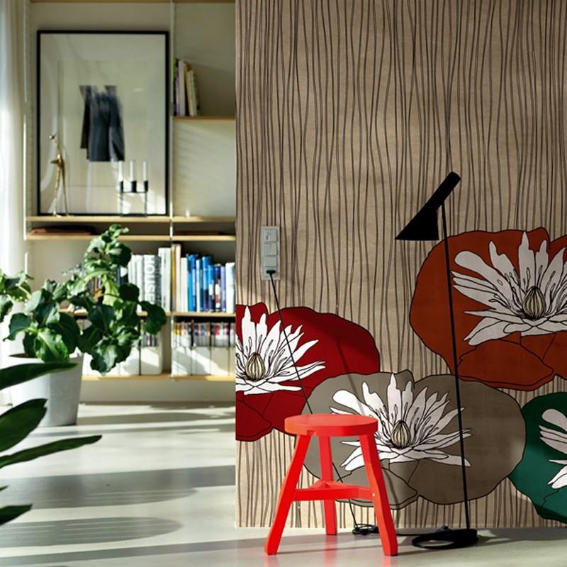 Mural Wall&Decò Contemporary Wallpapers Anniversary Lotus WDAN15LO A