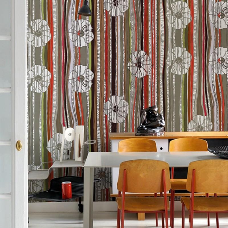 Mural Wall&Decò Contemporary Wallpapers Anniversary Japan Wind WDAN15JW A