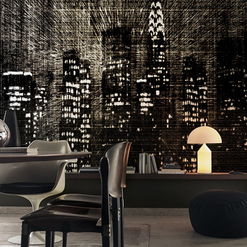 Mural Wall&Decò Contemporary Wallpapers 2015 Light Shadow WDLS1501 A