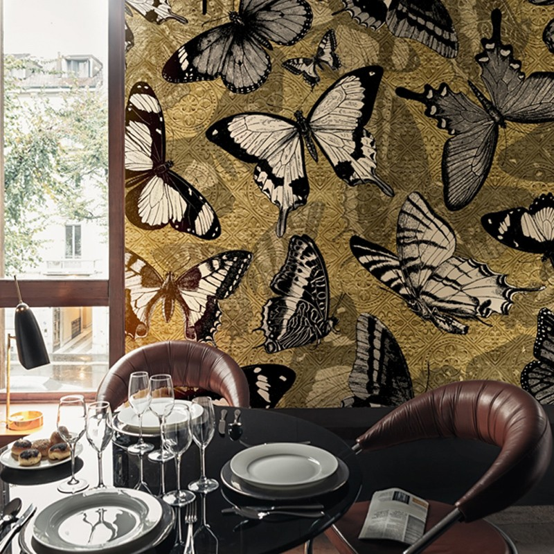 Mural Wall&Decò Contemporary Wallpapers 2015 Catch Me WDCM1501 A