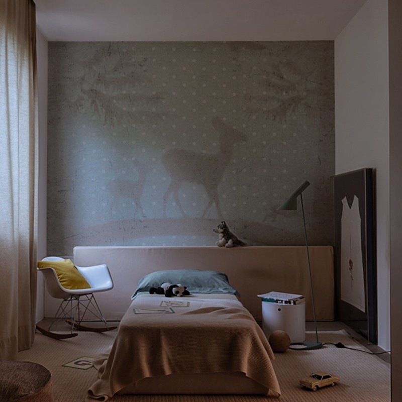 Mural Wall&Decò Contemporary Wallpapers 2015 Bambiboom WDBB1501 A