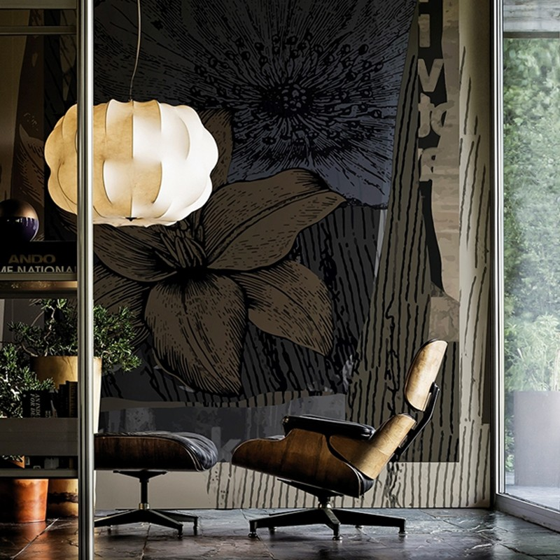 Mural Wall&Decò Contemporary Wallpapers 2016 Orchidalia WDOR1601 A