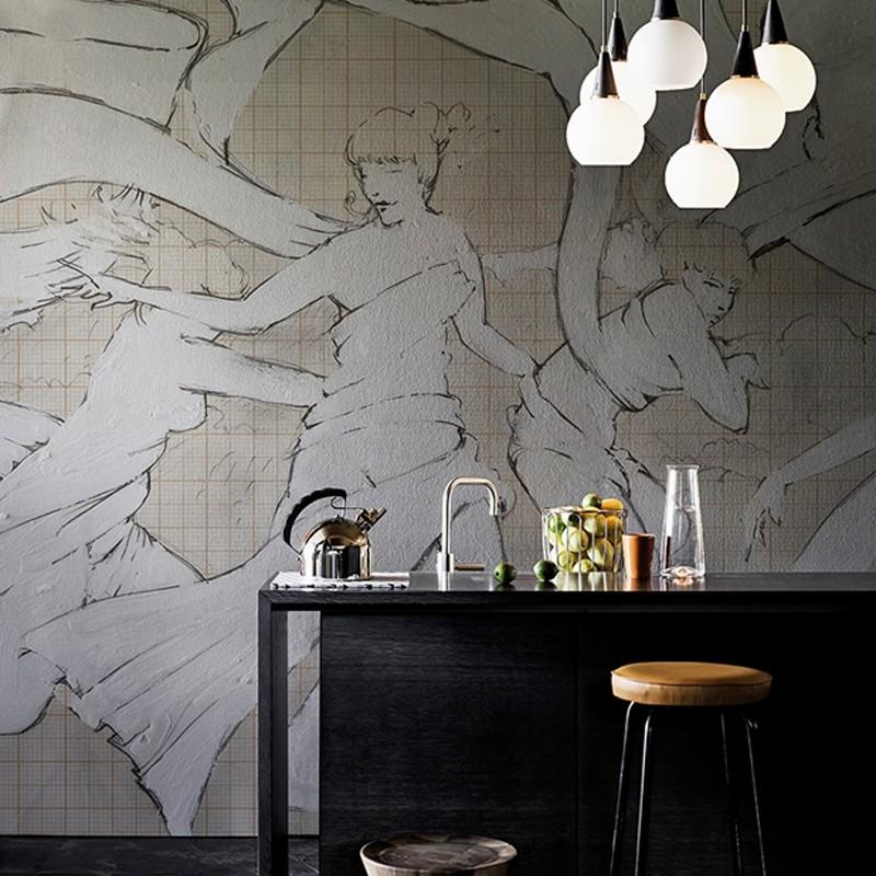Mural Wall&Decò Contemporary Wallpapers 2016 La Maison WDLM1601 A