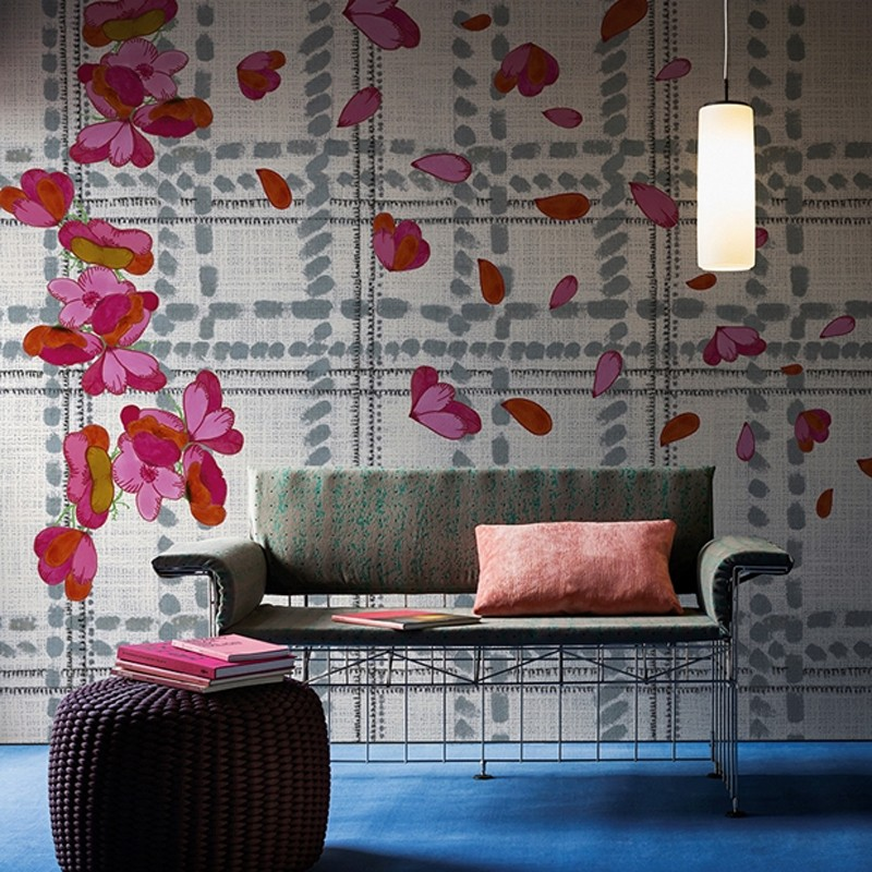 Mural Wall&Decò Contemporary Wallpapers 2016 Scottish Blumen WDSB1601 A
