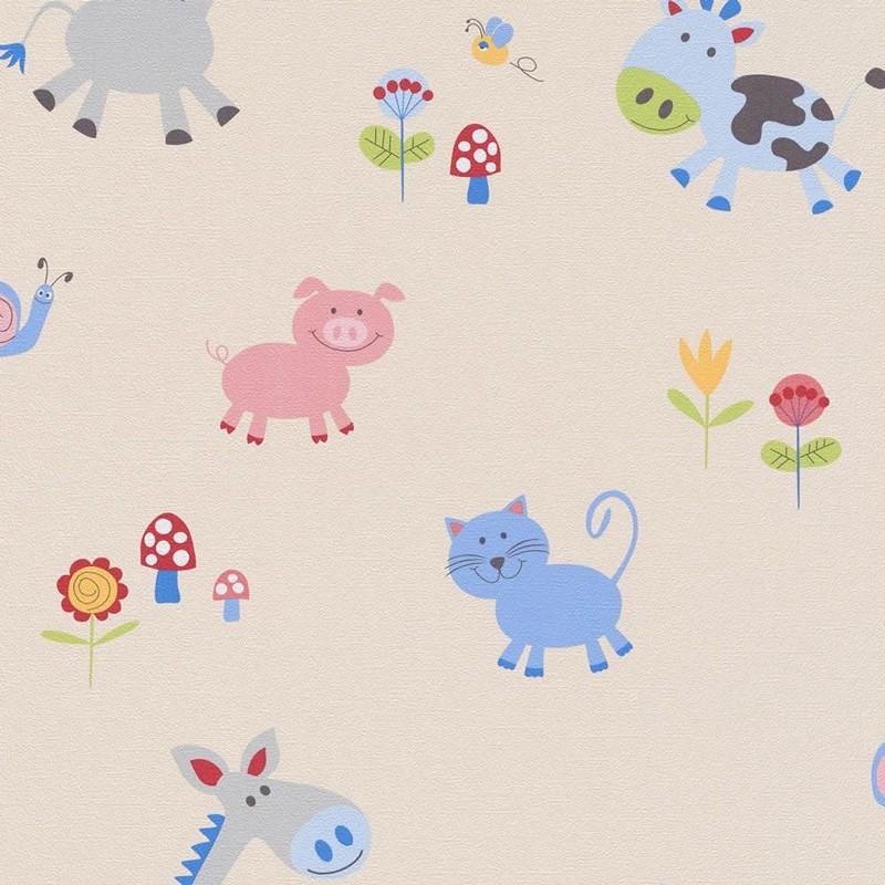 Papel pintado infantil Iberostil PequeS 4148-08