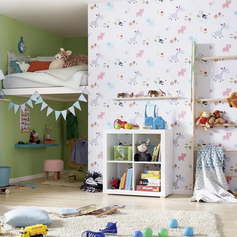 Papel pintado infantil Iberostil PequeS 4148-18 A