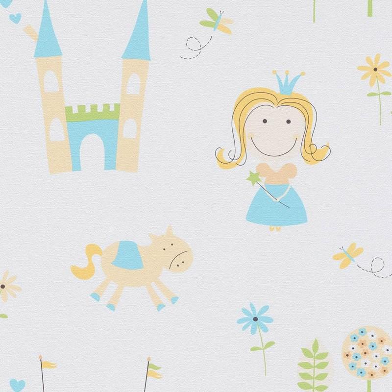 Papel pintado infantil Iberostil PequeS 4147-18
